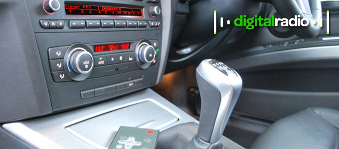 Example of JustDRIVE DAB Car radio retrofit kit